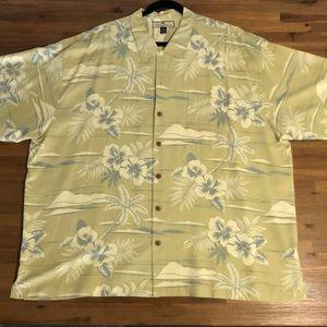Tommy Bahama XXL silk button up aloha print